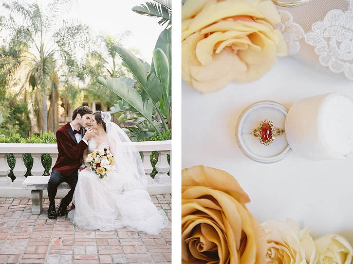 Autumnal Old Hollywood Wedding Ideas
