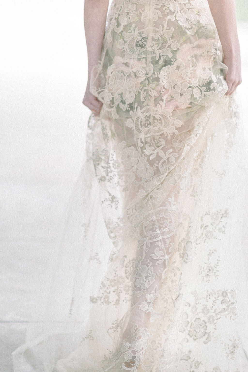 Ethereal Whimsical Wedding Inspiration with Claire Pettibone dress