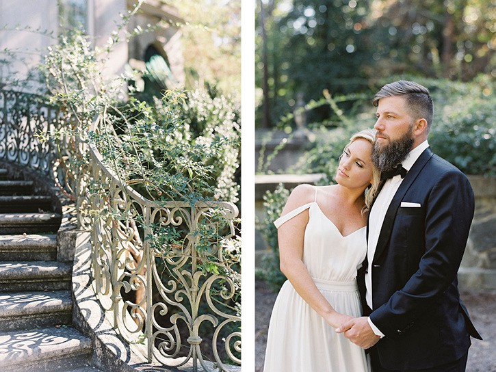 Garden Style Seasonal Wedding Inspiration at the Swan House