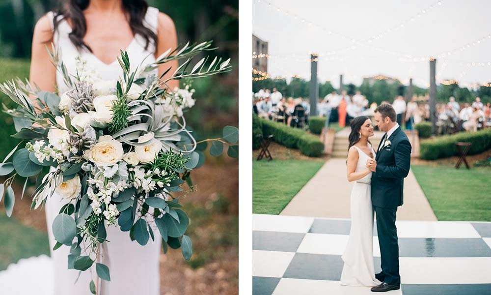 California meets Georgia Industrial Wedding by Kendra Elise Photography | Wedding Sparrow