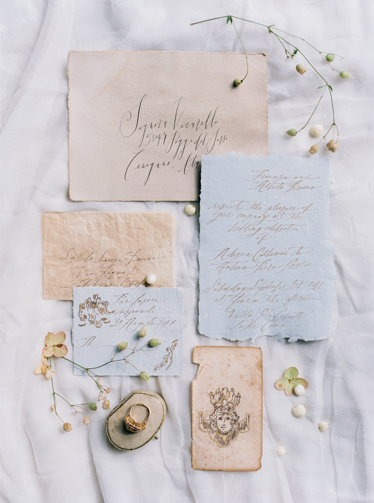 Lake Como Elegant Valentine's Inspiration - Pt I