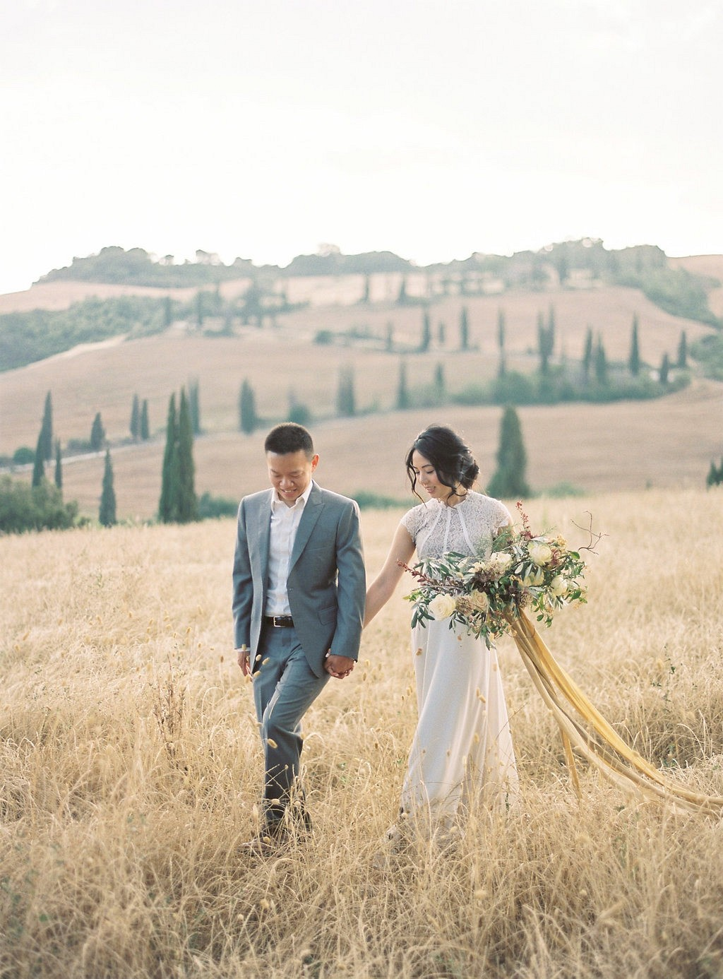 Catherine and Kevin's Tuscany Engagement Session