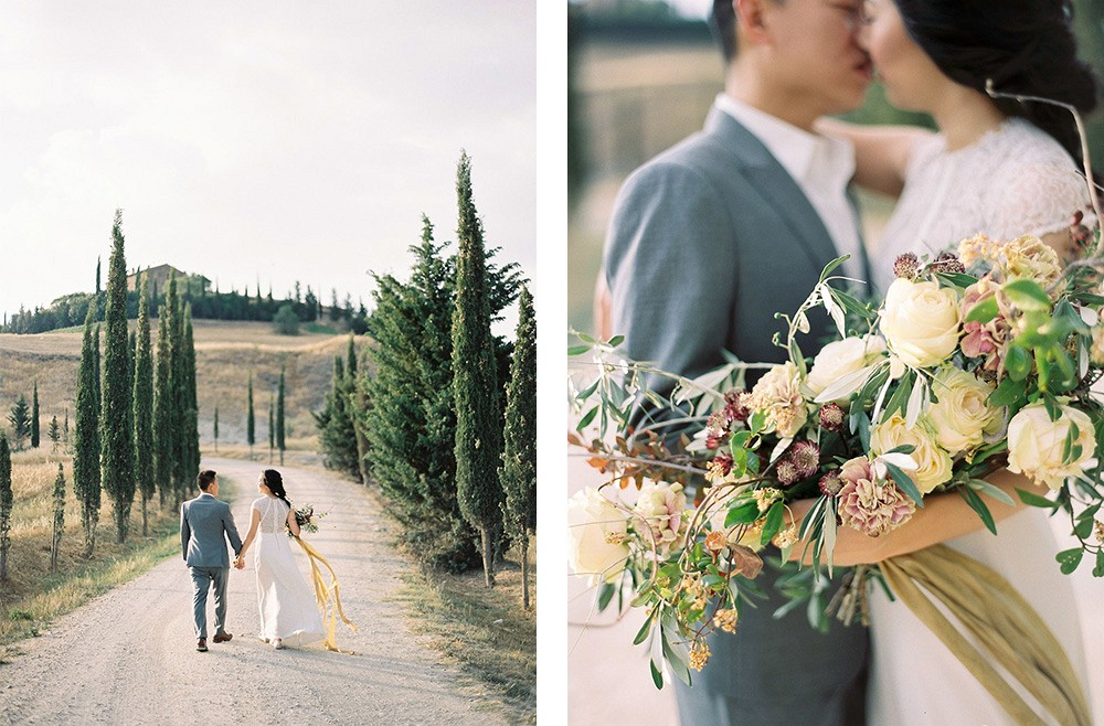 Katie Grant Tuscany Engagement Janna Brown