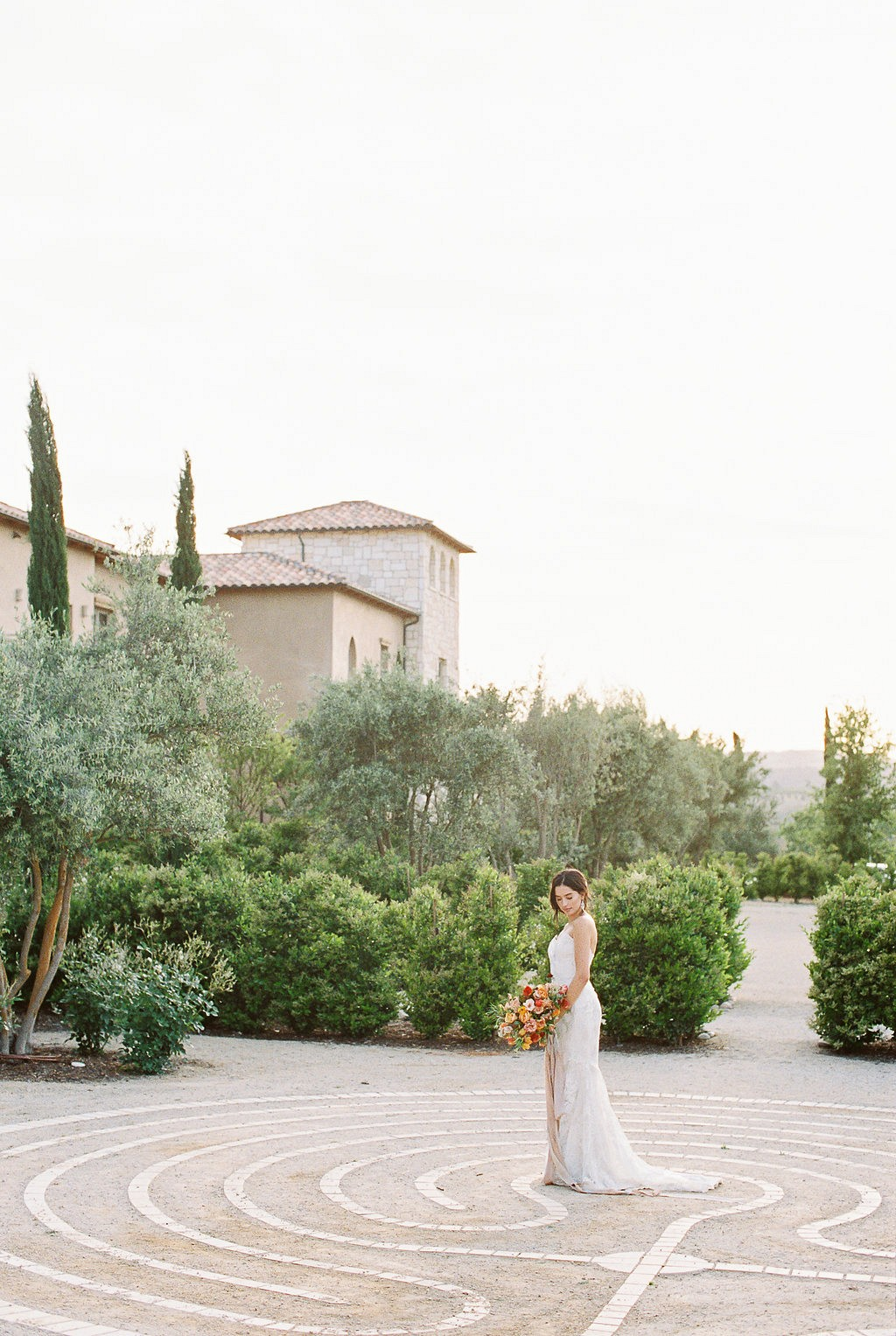 Bridal Boudoir and 'Morning of' Portraits at a Vineyard Resort