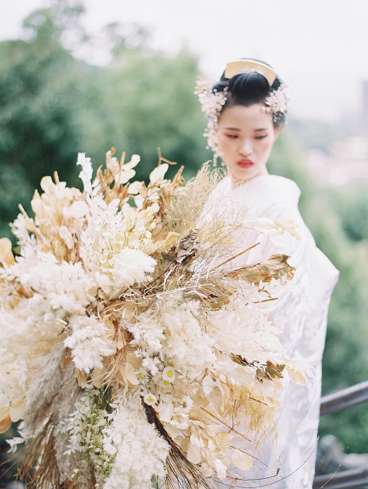 Timeless Japanese Bridal Style
