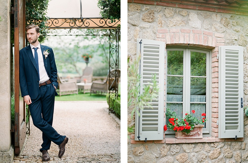 Soft Green Tones for an Al Fresco Wedding in Tuscany