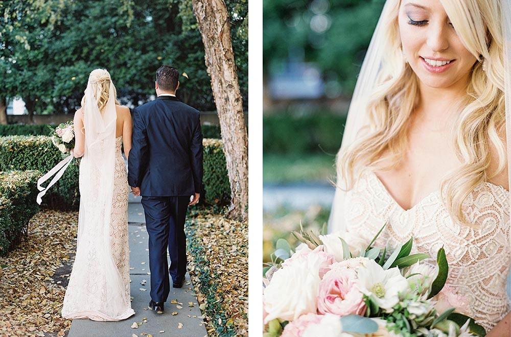 Jenna and Jon's Dallas Garden Wedding by Lauren Peele | Wedding Sparrow | fine art wedding blog
