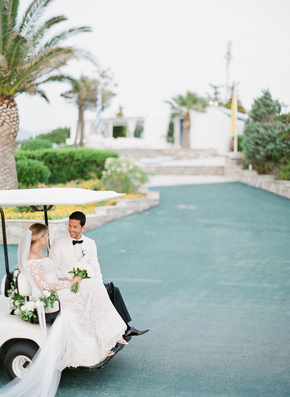 Classic Greek Coastal Wedding