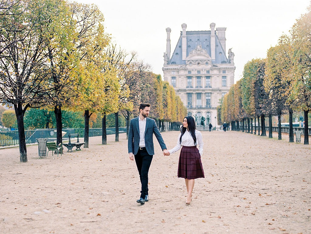 Autumnal Engagement Session in Paris