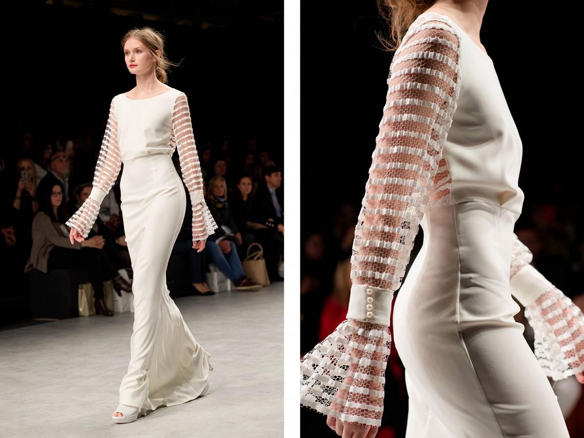 Rose Clara Long sleeve wedding dress