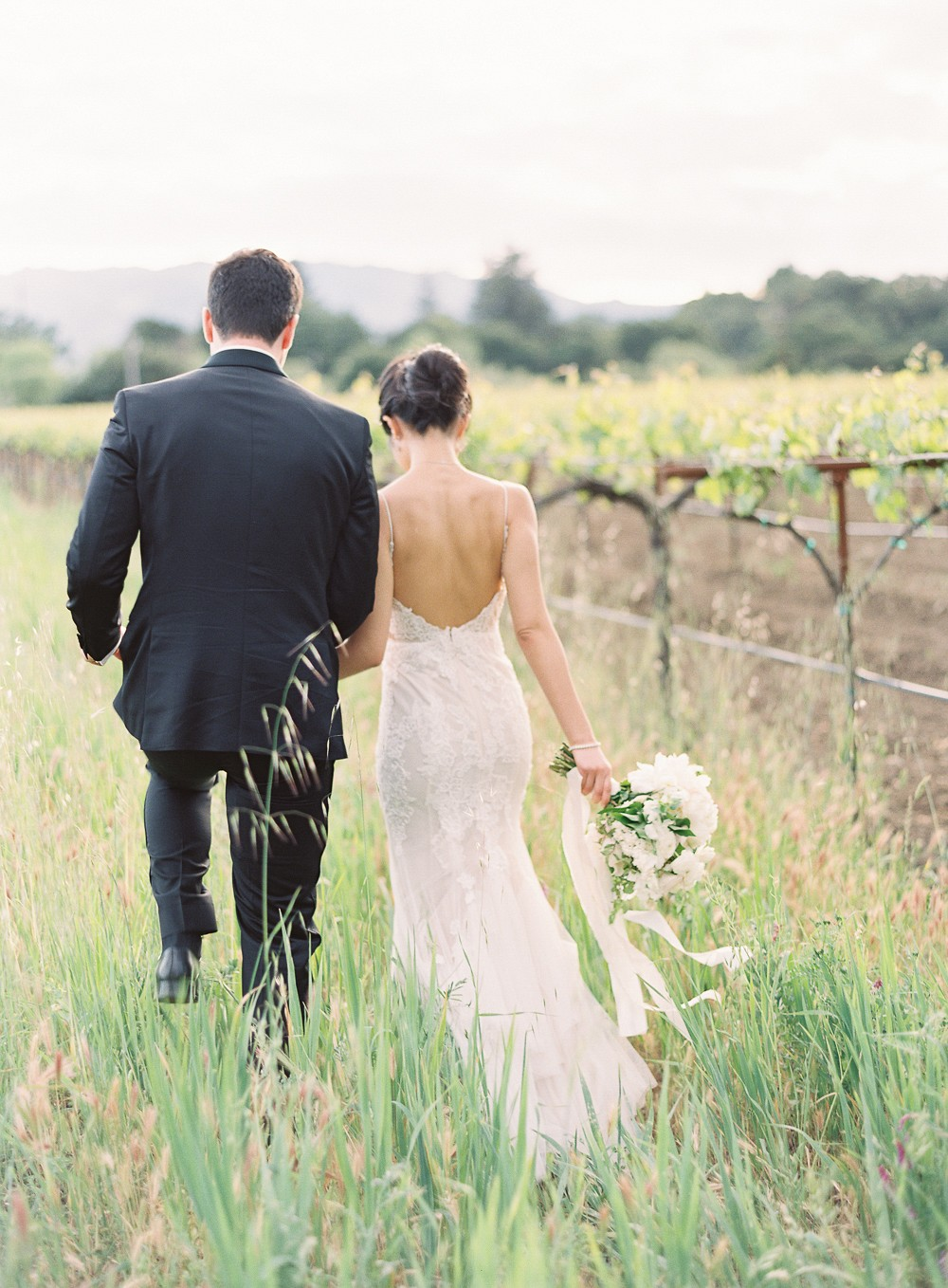 Ming and Ron's Modern Meets Traditional Napa Wedding