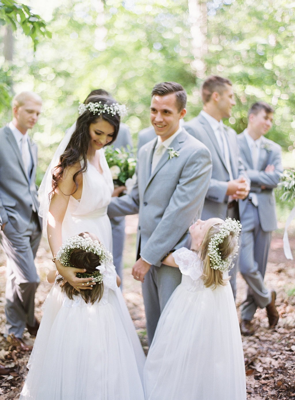 Abigail and Tyler's Simplistic Wedding on a Shady Campground