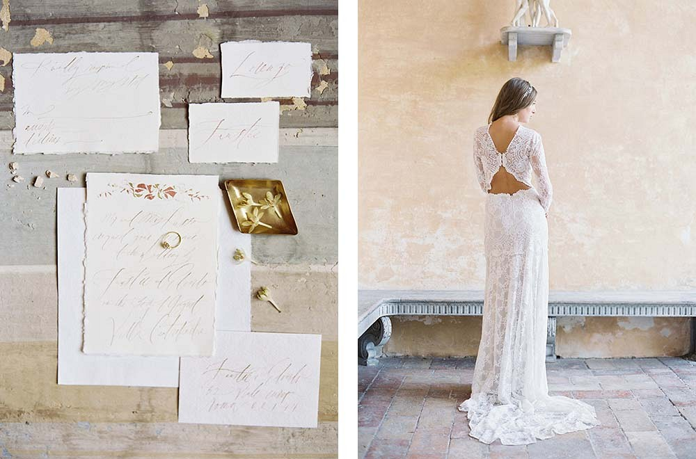 Michael and Carina Photography | destination wedding in italy | fine art wedding