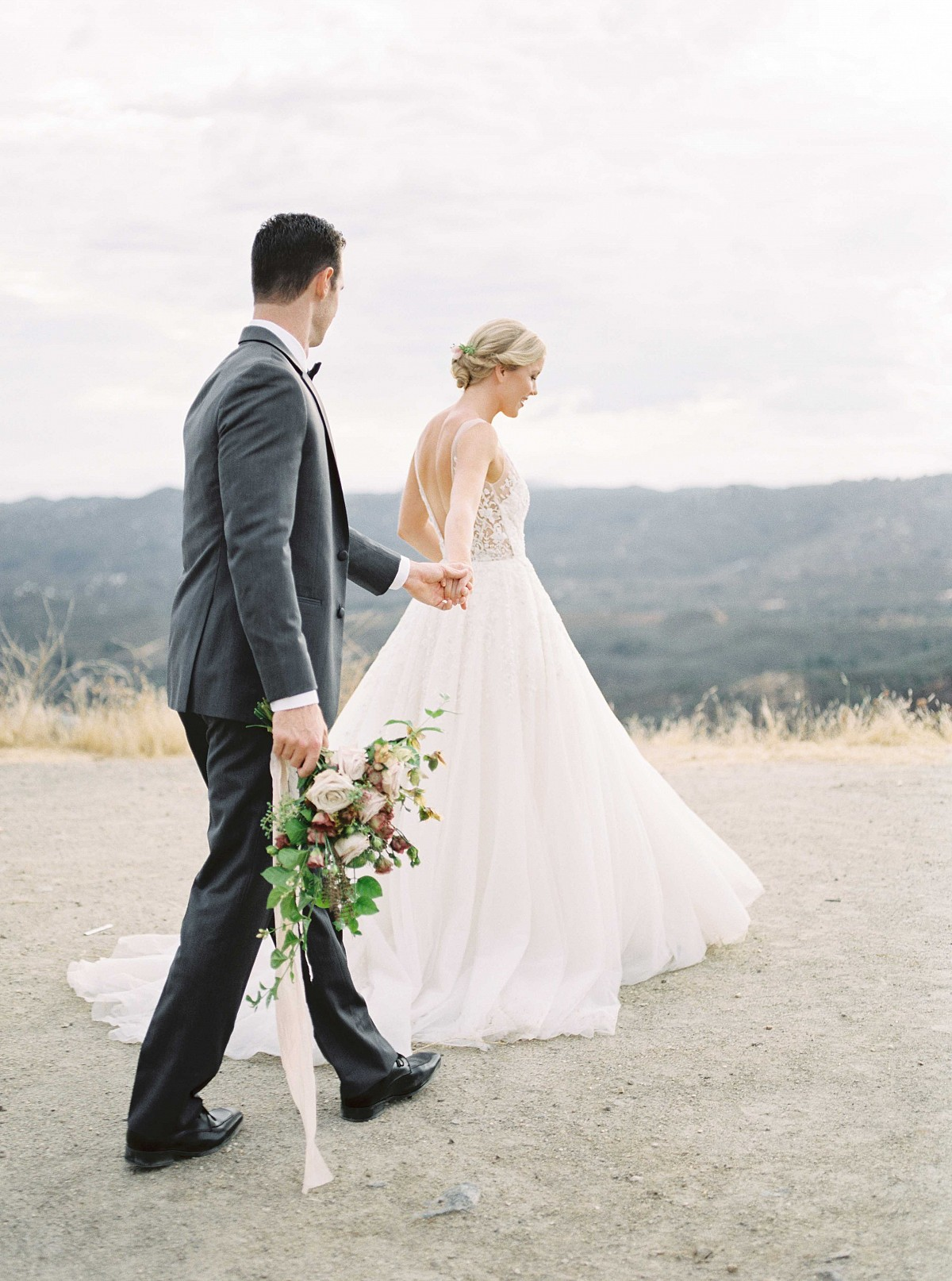 Romantic Bridal Style with Organic Florals