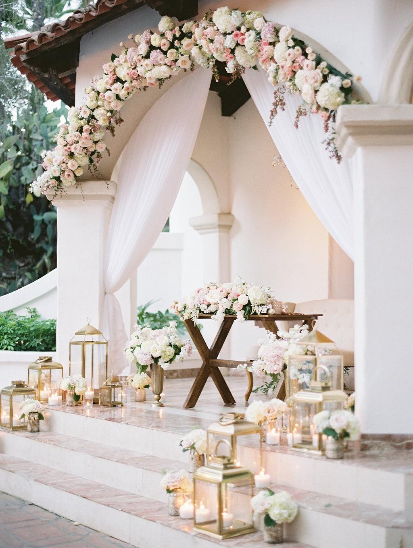 Romantic Blush Wedding at Rancho Las Lomas