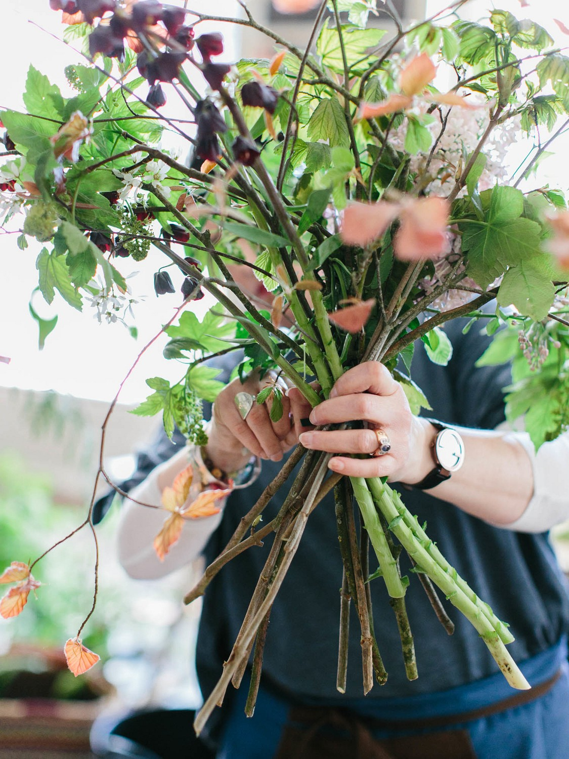 Ponderosa and Thyme England Floral Workshop - Maria Lamb Photography