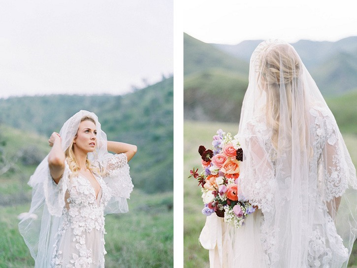 Romantic Green Hills Wedding Inspiration
