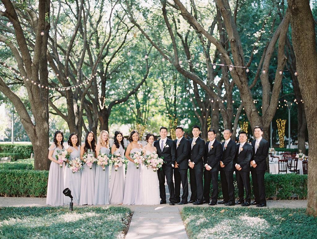 Intimate French Garden Wedding in Dallas
