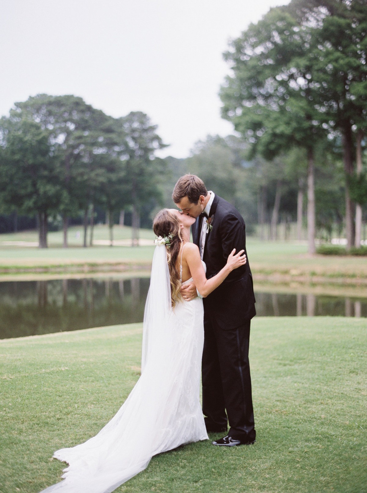 Country Club transformed into Boho Wedding