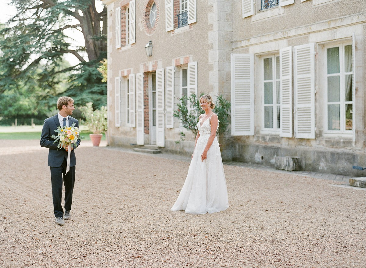 Adrienne and Niels' French Chateau Elopement