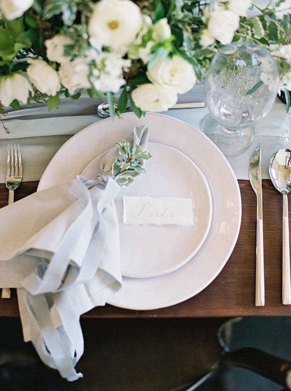 Elegant Neutral Indoor Wedding Inspiration