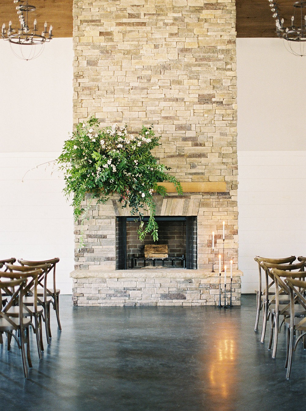 Elegant Neutral Indoor Wedding Inspiration