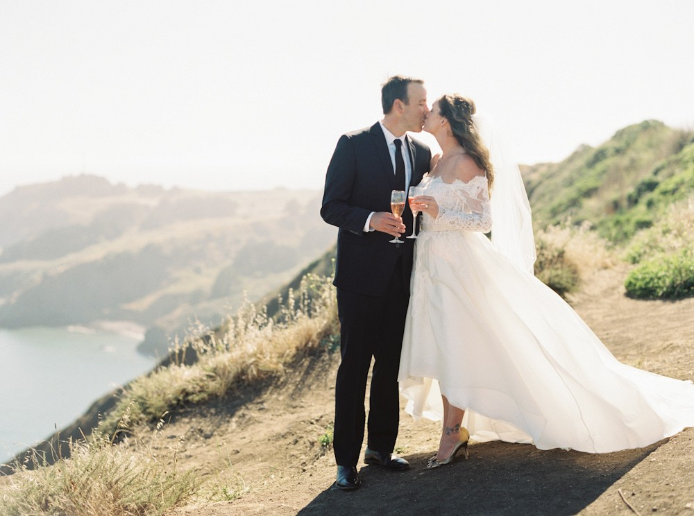 Pacific Cliff Top wedding