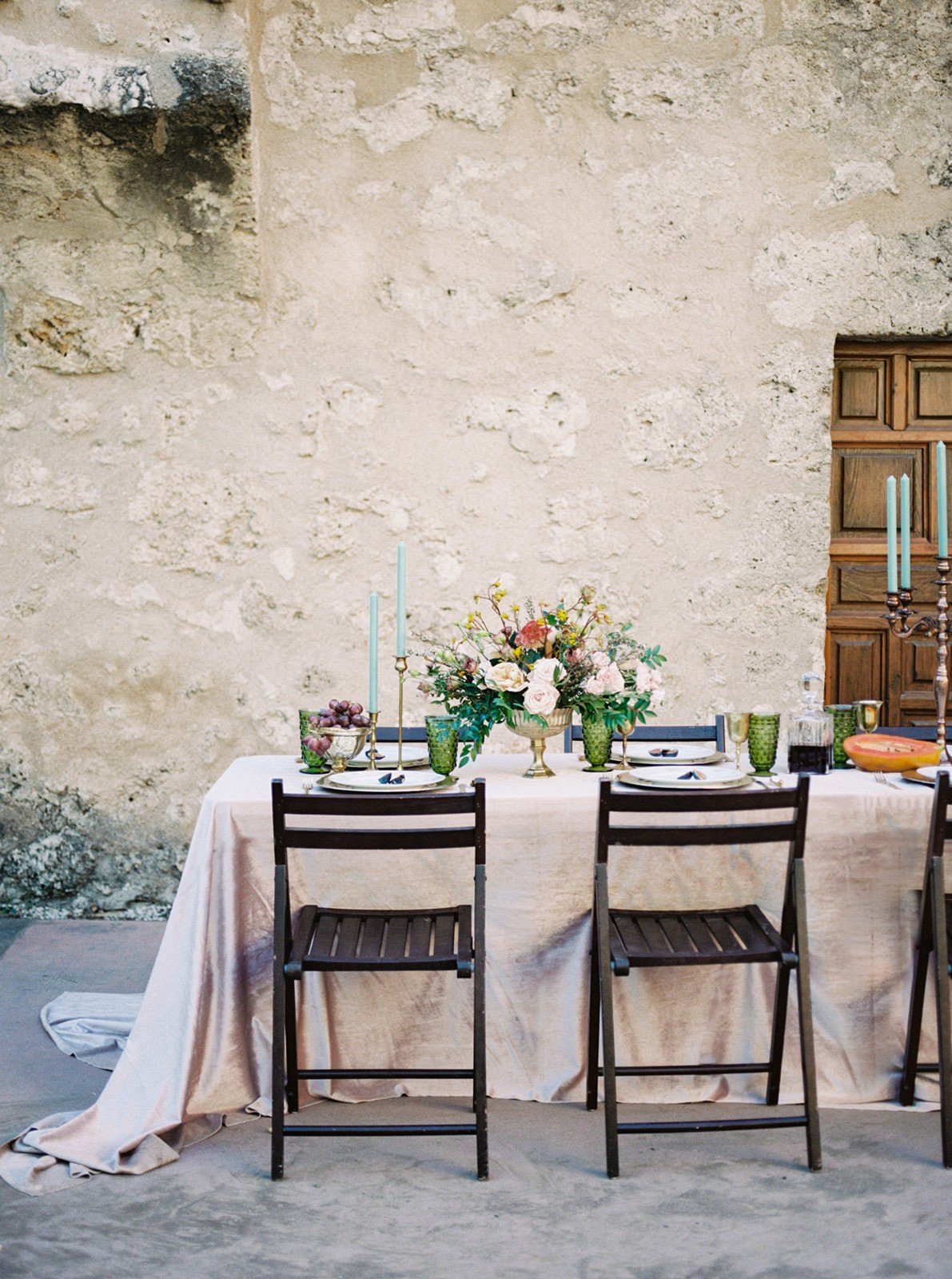 Mission Conception - Spanish setting for a Romantic Wedding
