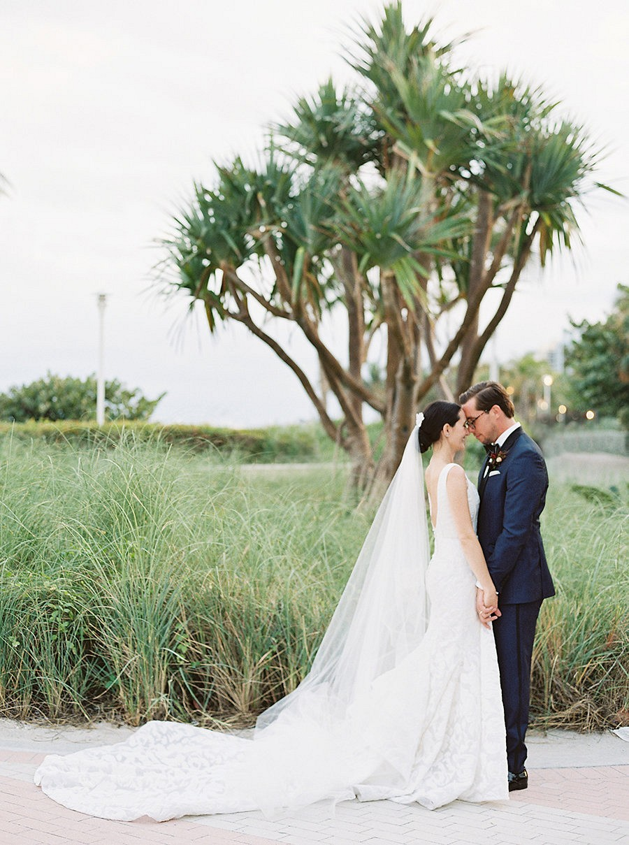 Monica and Alexis' Modern Miami Destination Wedding