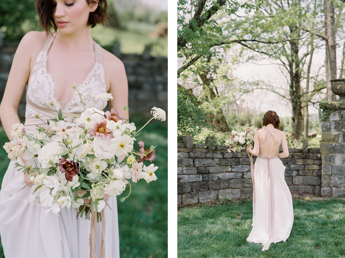 Moody Spring Wedding Floral Inspiration