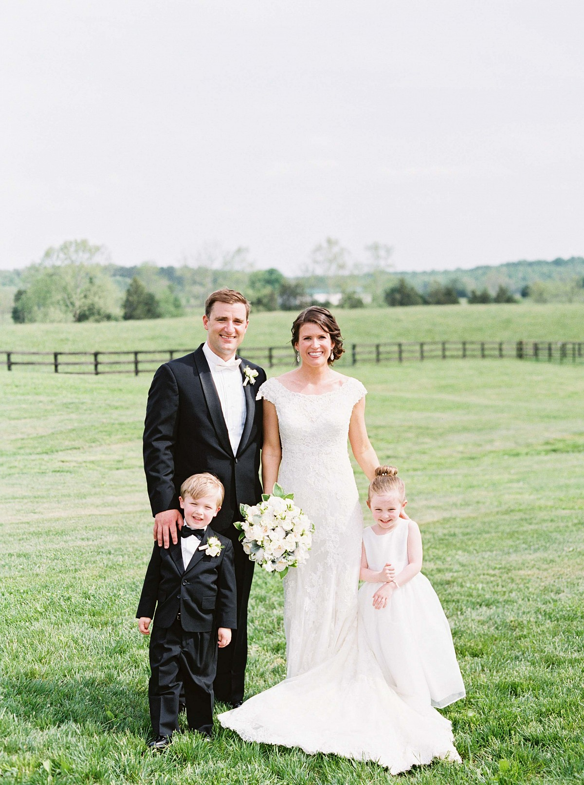 Allison and Greg's Rustic and Elegant Formal Wedding