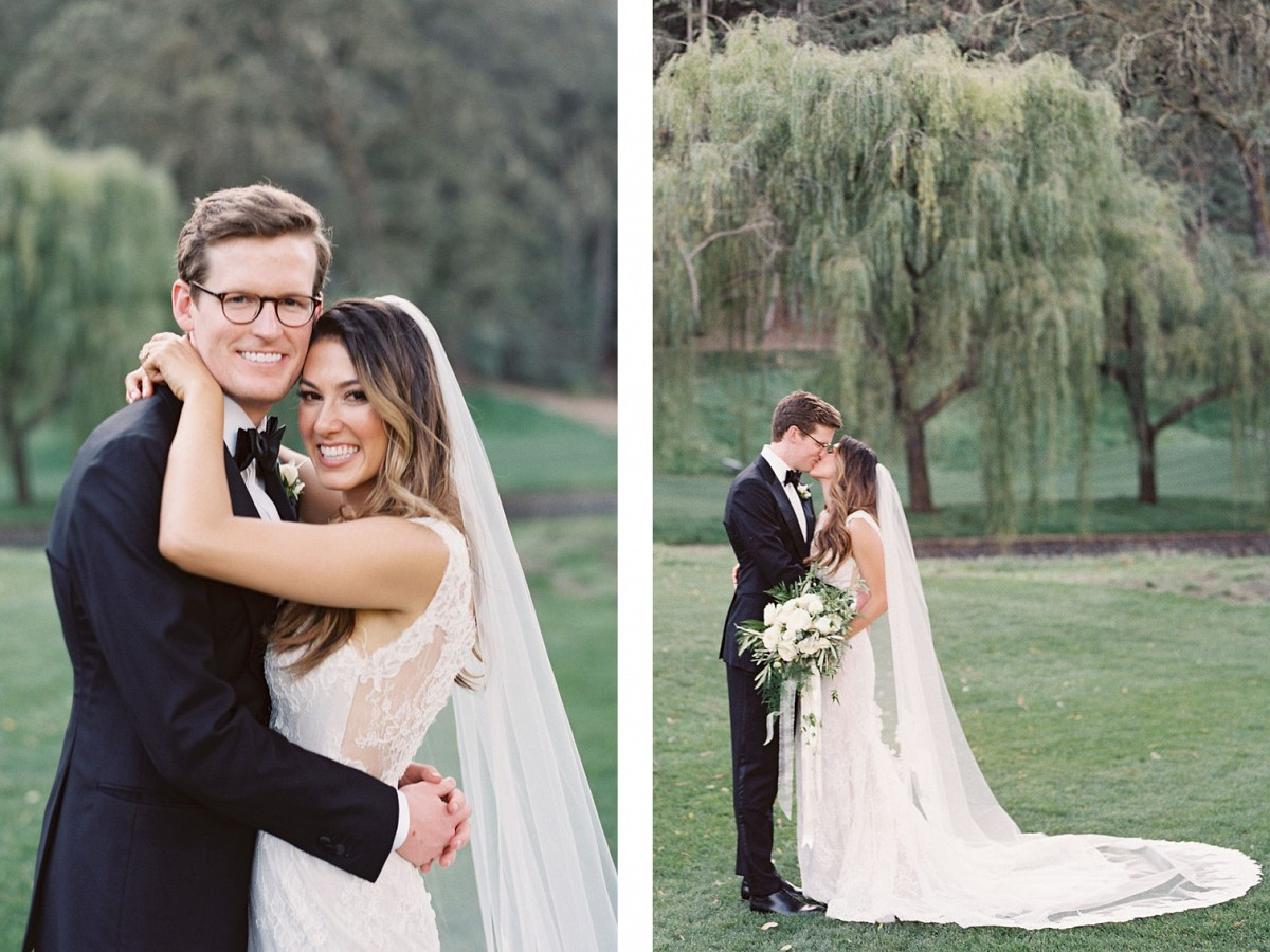 Classic Elegant Wedding in Napa with Family Style Reception