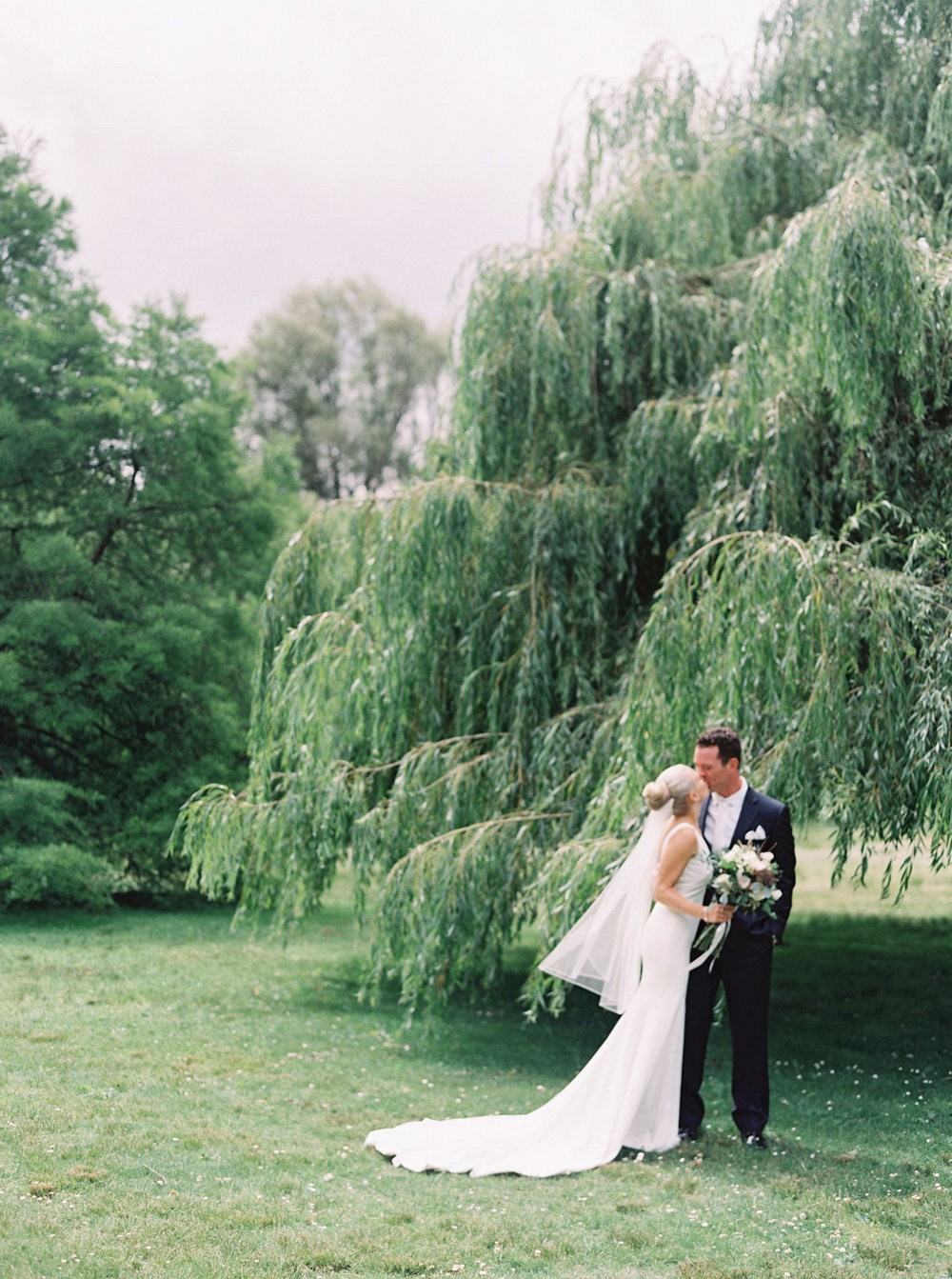 Jordan and Norrie's Elegant Botanical Garden Wedding