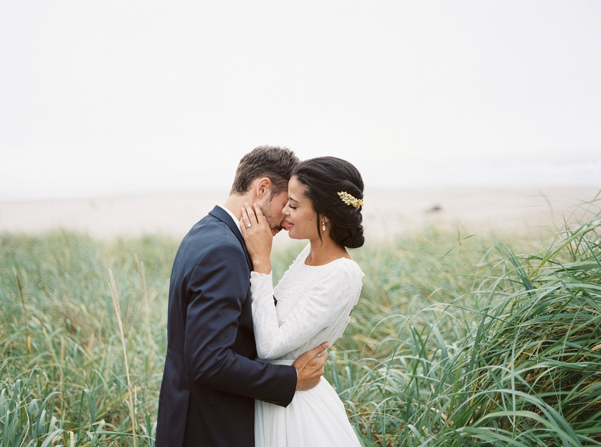 Oregon Coast Elopement with Autumnal Tones