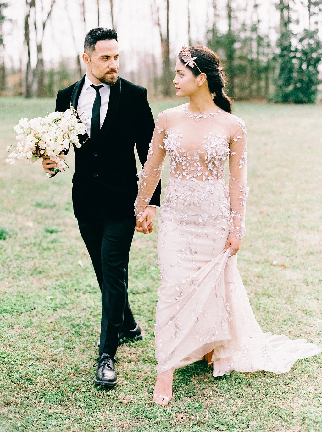 Feminine yet modern wedding ideas from The Hybrid Atelier