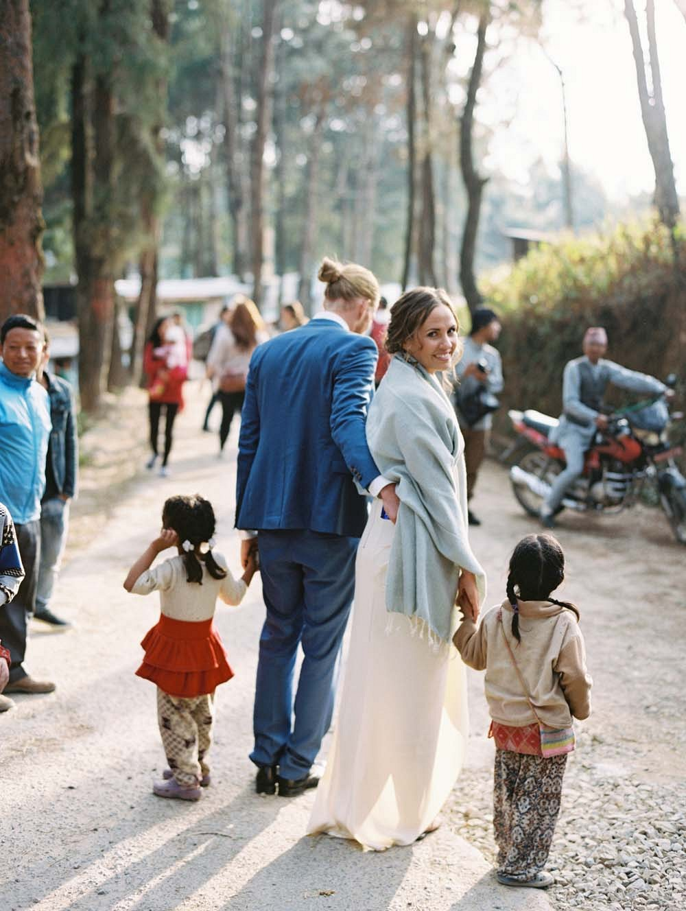 Real Wedding in Nepal immersed in the culture