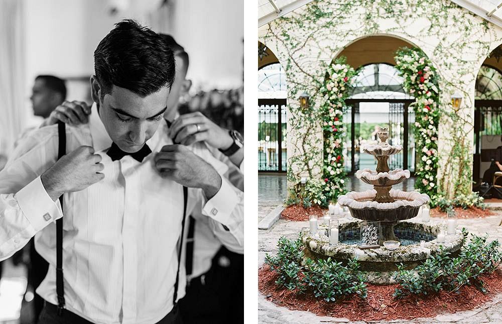 Old World Romantic Miami Wedding