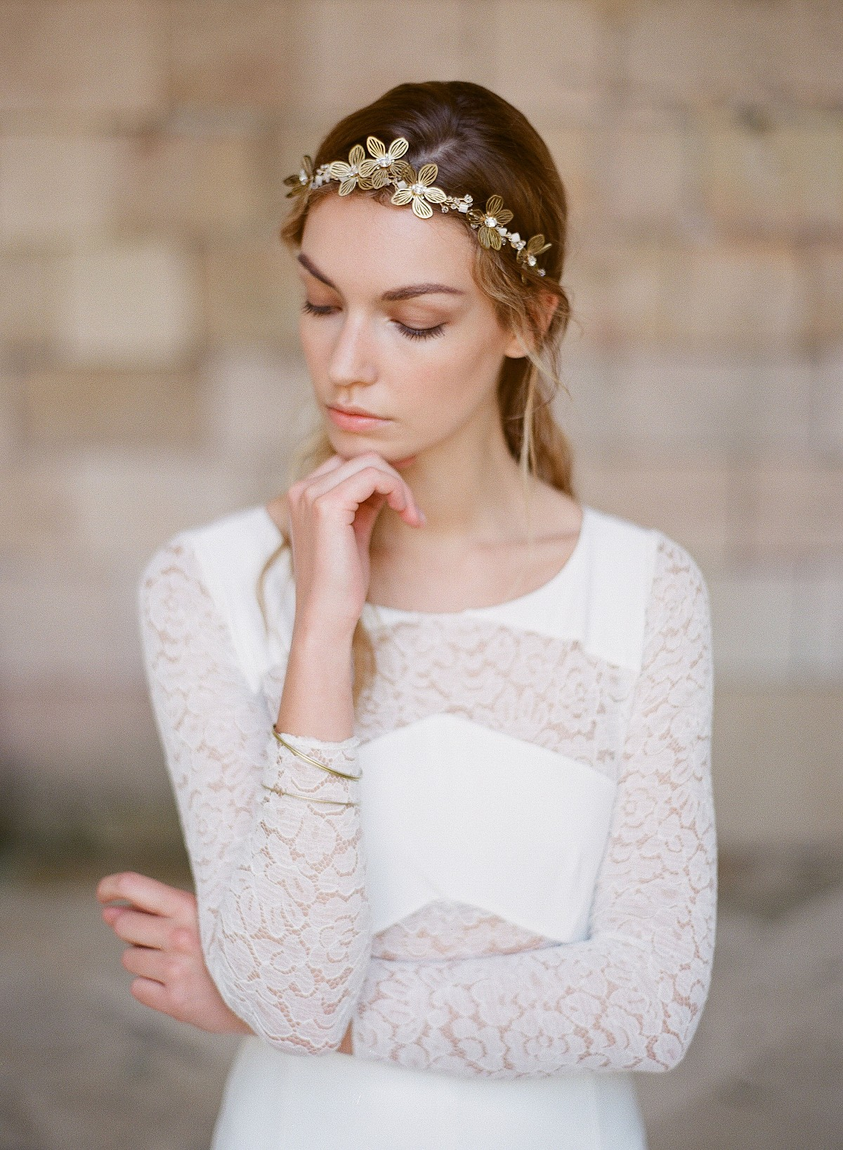 fine art bridal accessories by Orchidee De Soie | Wedding Sparrow