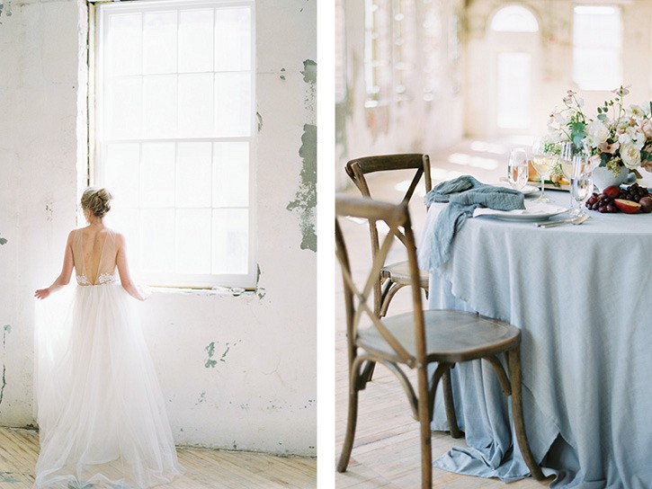 Ethereal Romantic Loft Wedding Ideas