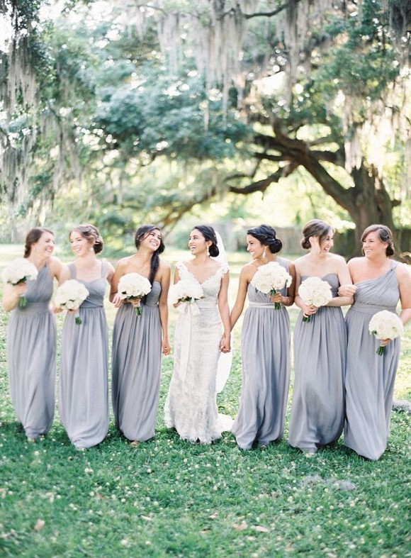 9f0671c4ff 25 Best Bridesmaid Dresses for the Fine Art Bride