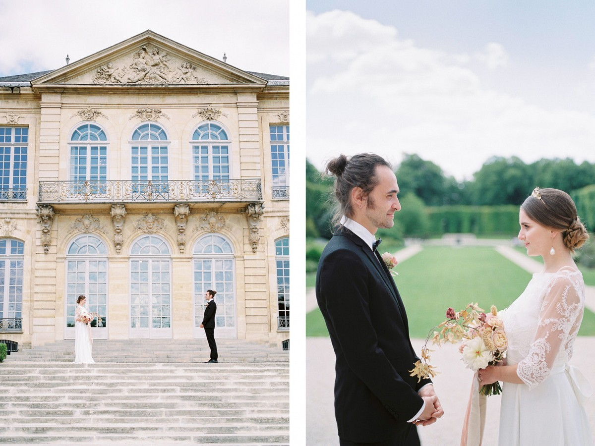 Paris Elopement Inspired by Rodin