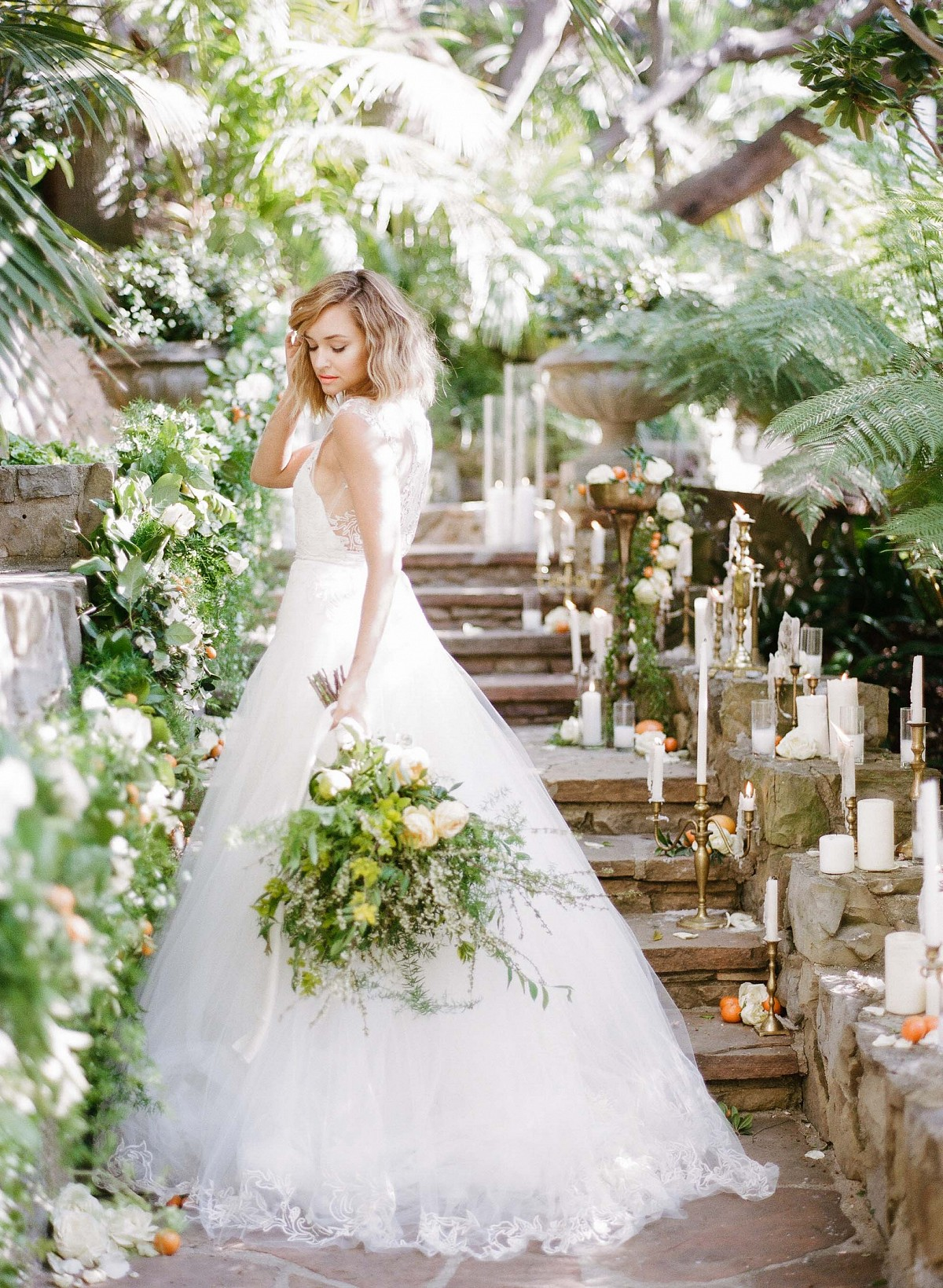 43d9cc82c13 Citrus Summer Wedding Inspiration by Rebecca Yale Photography ...