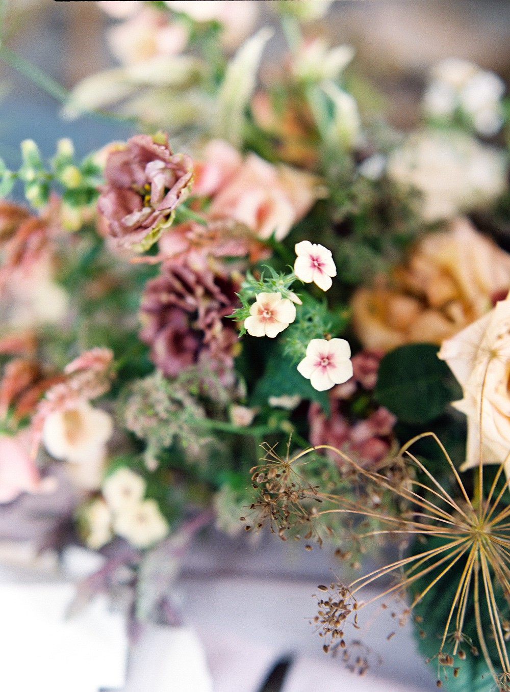 Wild and Organic European Inspired Wedding at Graylyn Estate
