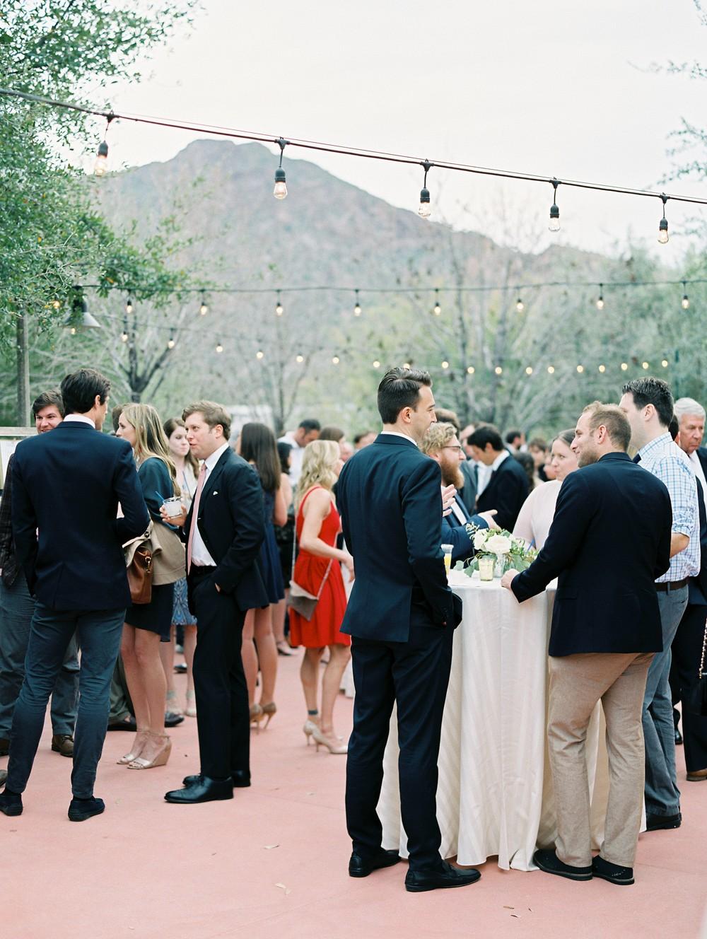 Marian and Mark's Blush and Coral Arizona Wedding