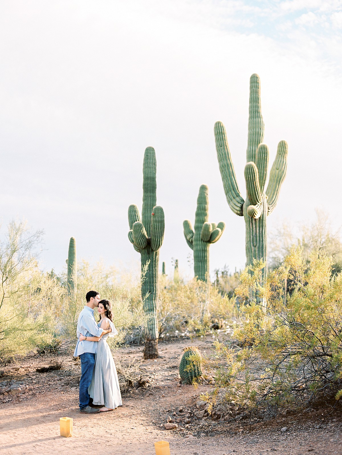 Desert Engagement Session by Rachel Solomon Photography | Wedding Sparrow | wedding blog