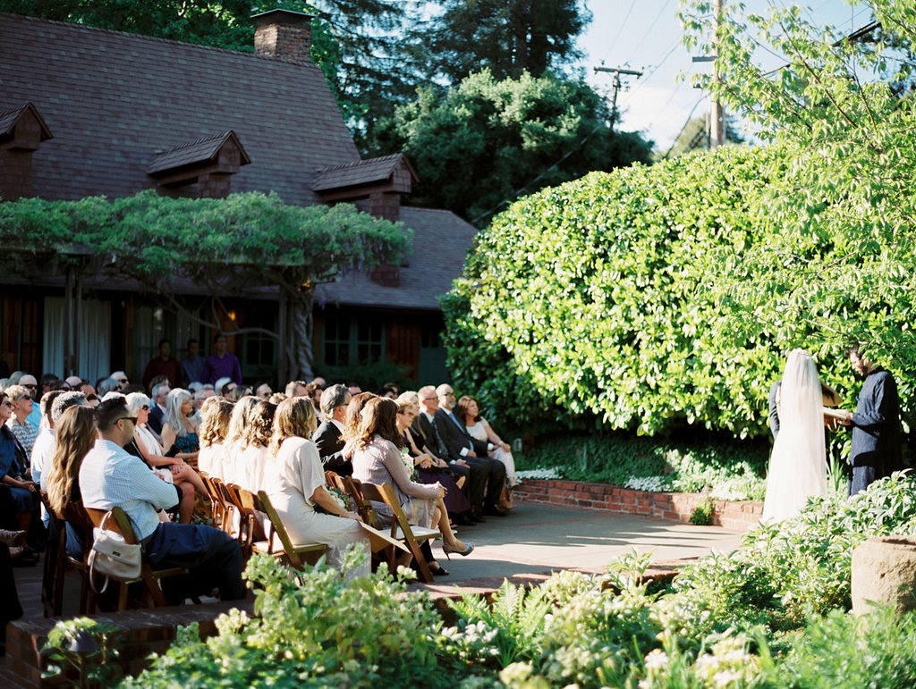 Rebecca and Jeff's Outdoor Art Club Wedding