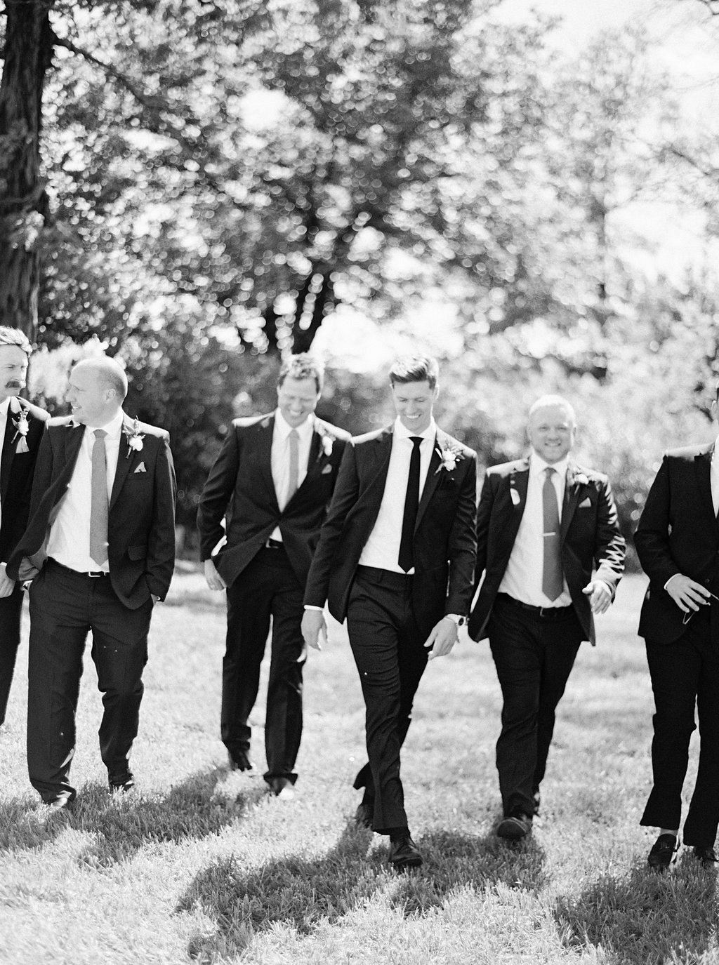 groomsmen | Heartfelt and Nostalgic Indiana Barn Wedding by Renee Lemaire | Wedding Sparrow fine art wedding blog