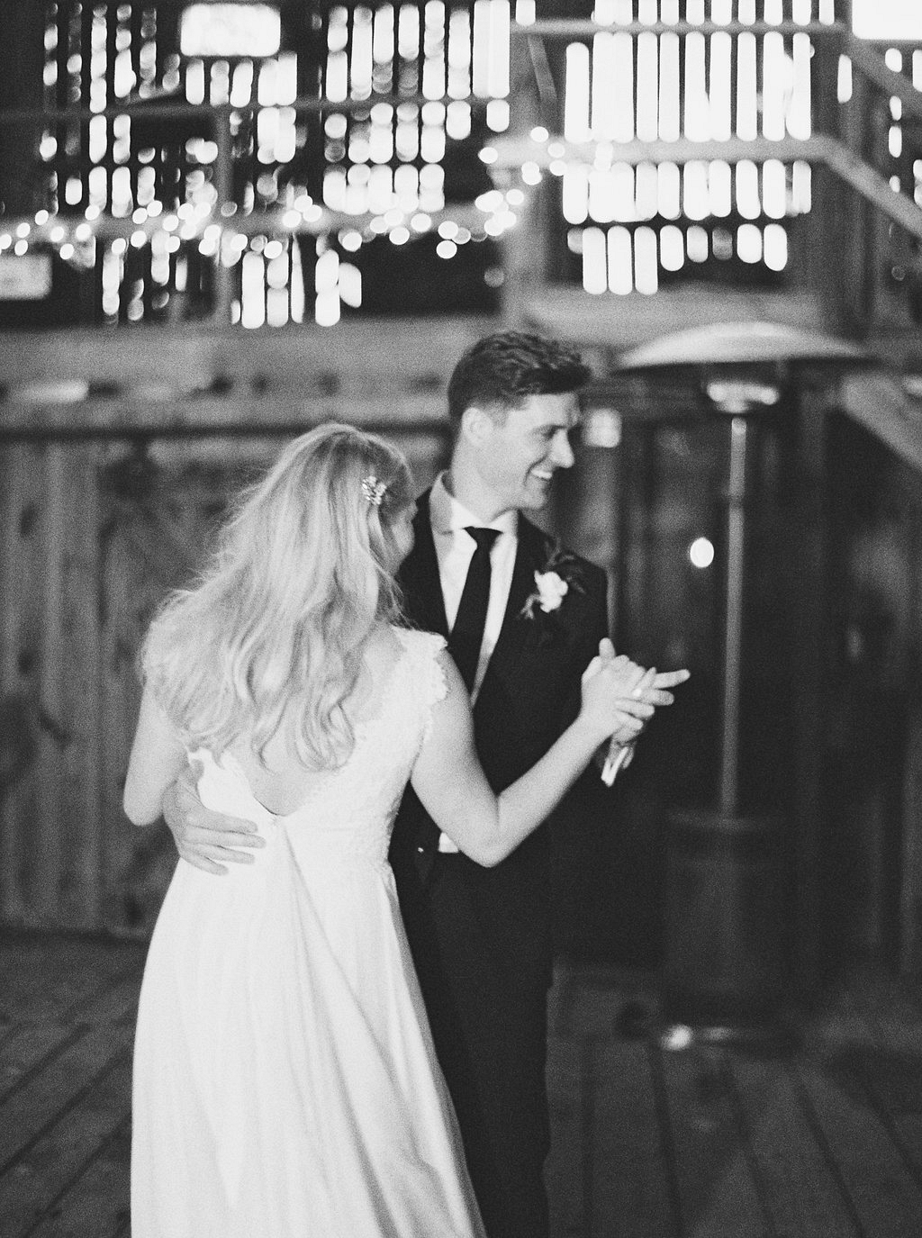 First Dance | Heartfelt and Nostalgic Indiana Barn Wedding by Renee Lemaire | Wedding Sparrow fine art wedding blog