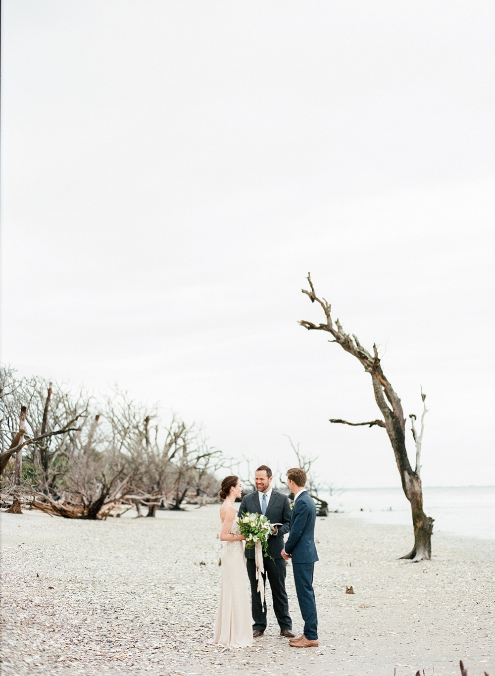 Alexandra and Michael's Meaningful Charleston Elopement