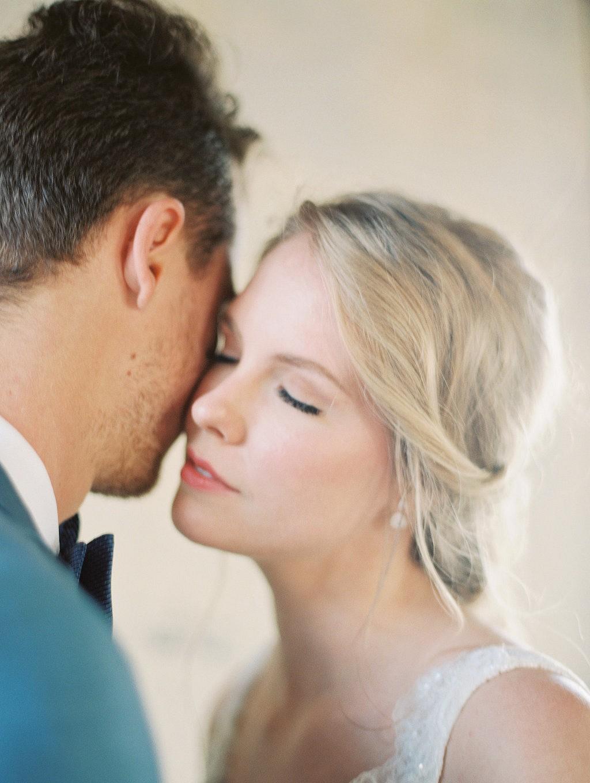 Romantic Blush and Blue Wedding Inspiration